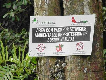 Sign in Costa Rica: Lehigh University Summer Environmental Internship