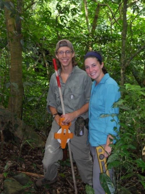 Students in Costa Rica:Lehigh University Summer Environmental Internship
